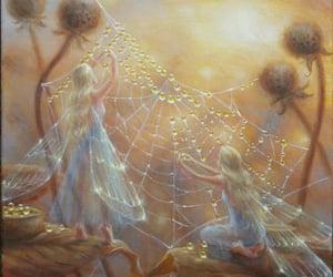 autumn, dew, and fantasy image