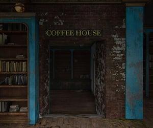 abandoned, bookstore, and brick image