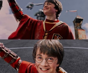 Daniel Radcliff, fandom, and harry potter image