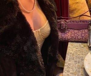 bag, coat, and paris image