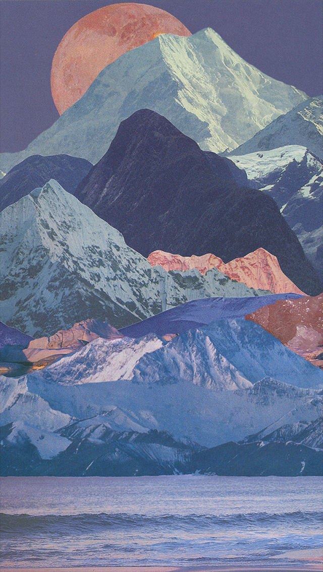 mountains, background, and wallpaper image