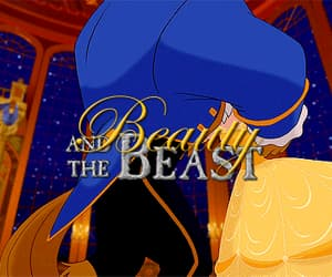 animation, beauty and the beast, and gif image