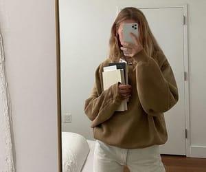 girl, book, and fashion image