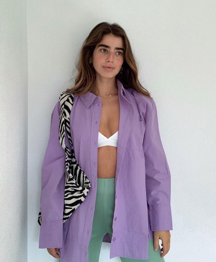 Bruna, fashion, and purple image
