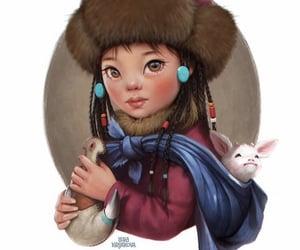 art, Ilustration, and lera kiryakova image