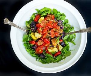 potato, salad, and dijon mustard image