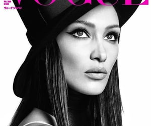 beauty, black and white, and cover image