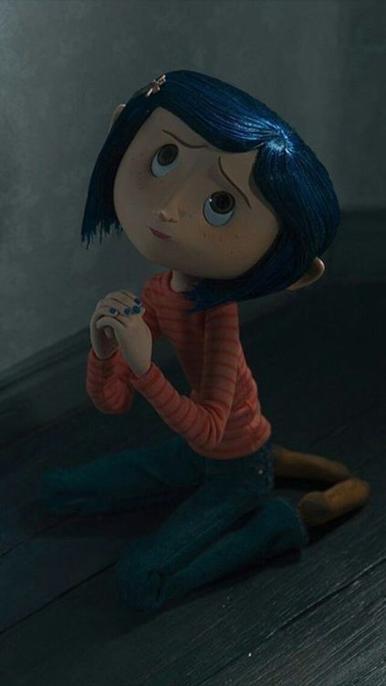 aesthetic, autumn, and coraline image