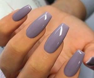 beauty, manicure, and acrylic nails image