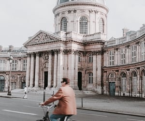 arch, architecture, and bike image