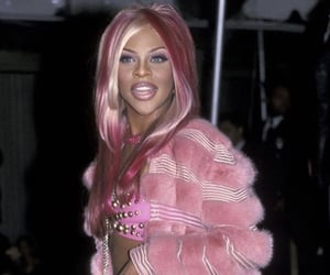 Lil Kim and pink image