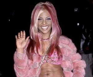 Lil Kim and pink image