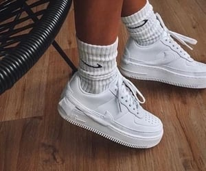 look, nike, and style image