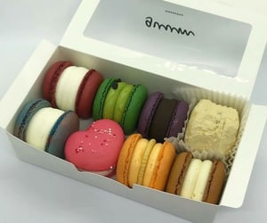delicious, dessert, and macaroons image