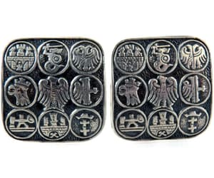 1960's, vintage jewelry, and cuff links image