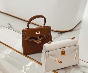 bag, clutch, and hermes image