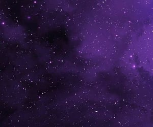 stars, space, and purple image