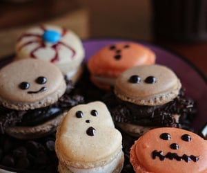 Cookies, Halloween, and yummy image