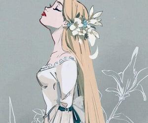 art, bride, and disney image