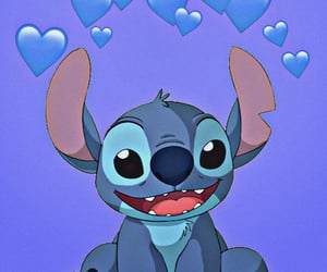 aesthetic, heart, and stitch image
