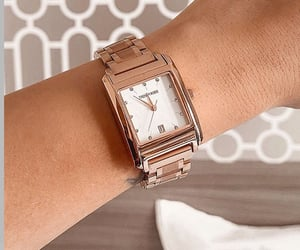 chic, watch, and fashion image