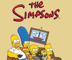 cartoon, the simpsons, and fox image