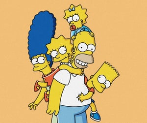 bart, cartoon, and the simpsons image