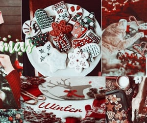 aesthetic, christmas, and white image