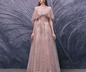 girl, prom dress, and tulle image
