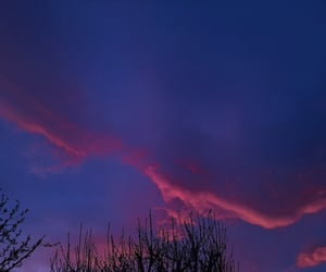 atardecer, cielo, and nubes image