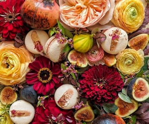 autumn, flowers, and fleurs image