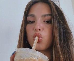 coffee, rare, and selfie image