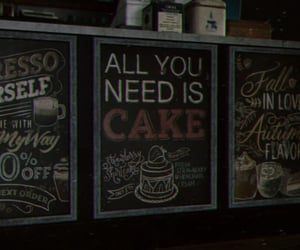 chalkboard, last of us, and cake image