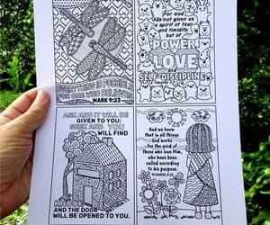cute kids, printable, and digital drawings image