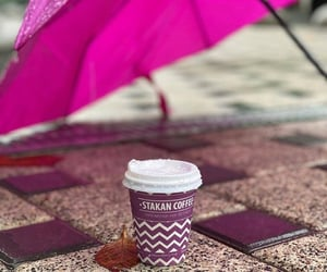 autumn, coffee, and purple image