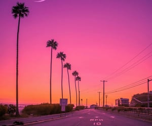colorful, pink, and street image