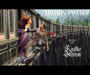 video, t series, and radhe shyam poster image