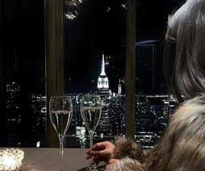 luxury, city, and night image