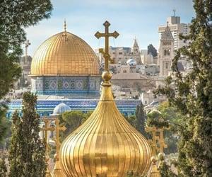 christian, hijab, and israel image