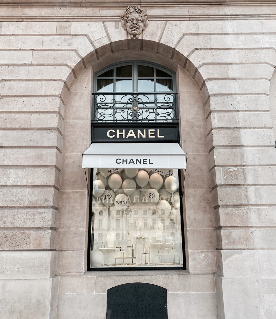 architecture, chanel, and exterior image