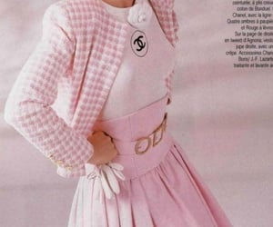 pink, chanel, and vintage image