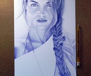 art, artwork, and pen drawings image