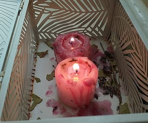 candle, love me, and spell image