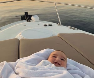 baby and yacht image