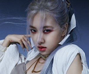 rose, blackpink, and 박채영 image