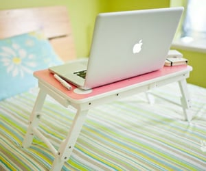 apple, cute, and laptop image