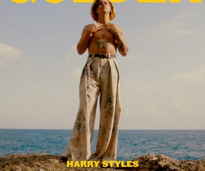 Harry Styles, golden, and one direction image