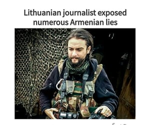 journalist, karabakhisazerbaijan, and lithuanian image