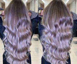 beautyfull, long hair, and waves image