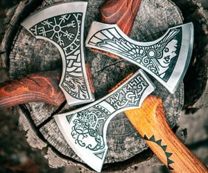 axe, celtic, and norse image